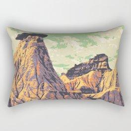 Dinosaur Provincial Park Rectangular Pillow