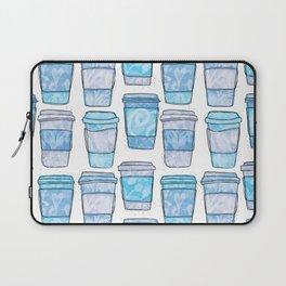 Coffee Cups | Blue Palette Laptop Sleeve