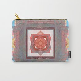 Peace is my Passion Boho Bliss Sacred Geometry Mandala Carry-All Pouch