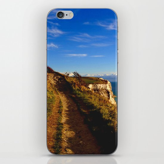 Cliff's Edge Dover  iPhone & iPod Skin