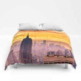 New York . Comforters