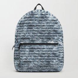 Light Blue Jeans Denim Textures Backpack