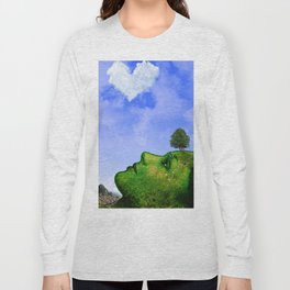 Mother Nature Smiling Long Sleeve T-shirt
