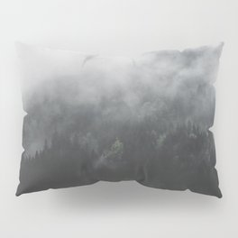Spectral Forest II - Landscape Photography Pillow Sham
