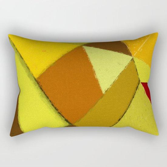 Abstract #377 Rectangular Pillow