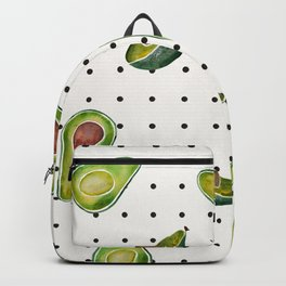 Avocado Polka Dots Backpack
