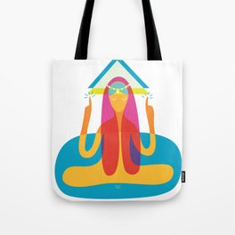 Every problem of fear is solved Tote Bag