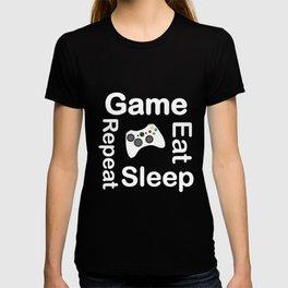 Game Eat Sleep Repeat New T-Shirt T-shirt