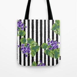 Sweet Violet - Birth Month Flower For February Tote Bag