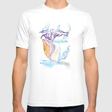 Mývatn Mens Fitted Tee White SMALL