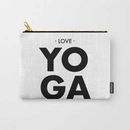 Love Yoga Carry-All Pouch