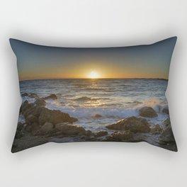 Gold Waves. Sancti Petri Rectangular Pillow