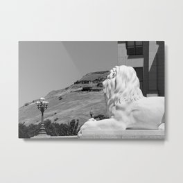Overlooking Utah - USA Series  Metal Print