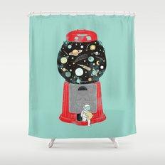 My childhood universe Shower Curtain