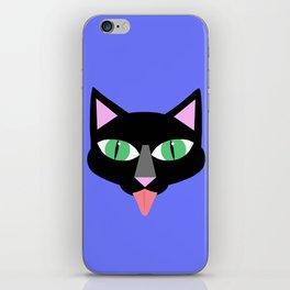 Norman Reedus's black cat iPhone Skin