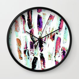 Rainbow Candy Sugar Cane, Spring, First World Problems Wall Clock