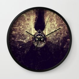 Exposure Art - Golden Devil Wall Clock