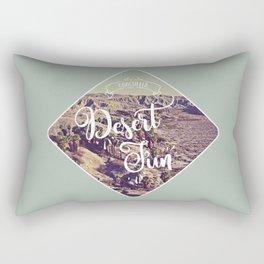 Desert Fun Rectangular Pillow