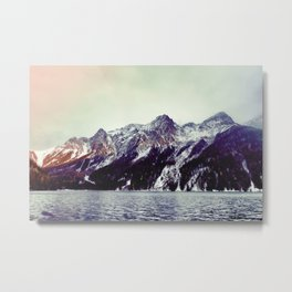 Lake and Mountains  - Nature Photography Metal Print