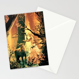 Feral Strings Stationery Cards