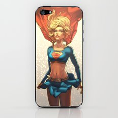 Supergirl III iPhone & iPod Skin