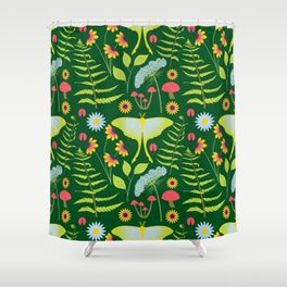 Woodland Forest Shower Curtain