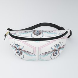 Queen Bee Cool Colors Fanny Pack