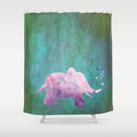 hindu Shower Curtains featuring Love is in the air I by Better HOME