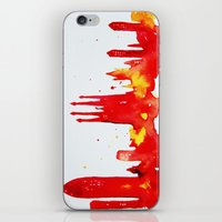 barcelona iPhone & iPod Skins featuring Barcelona by Talula Christian