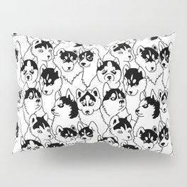 Oh Husky Pillow Sham
