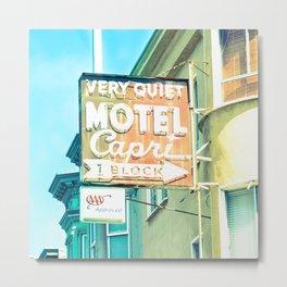 Streets of San Francisco IV Metal Print