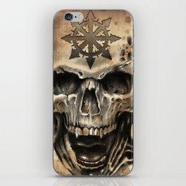 Skull Tattoo iPhone Skin