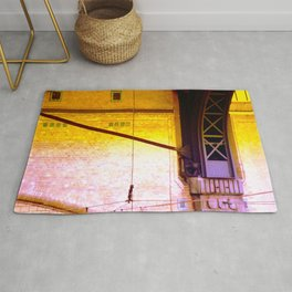 cable dance Rug