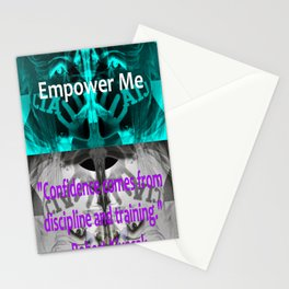 MALE CONFIDENCE. Stationery Cards