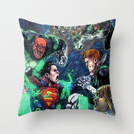 The fight is not Balanced Throw Pillow