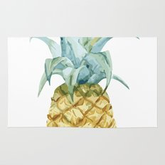 Pineapple Topper Rug