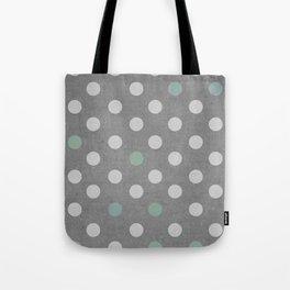 Concrete & PolkaDots Tote Bag
