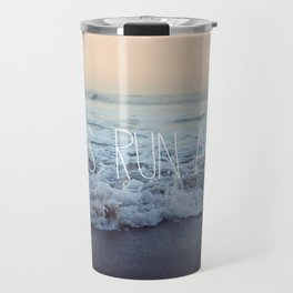 Let's Run Away x Arcadia Beach Travel Mug