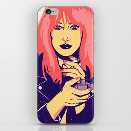 Rock Gina iPhone Skin