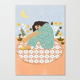 Parisian chic Canvas Print