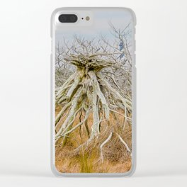 Cape Hatteras Lighthouse thru the Trees Clear iPhone Case
