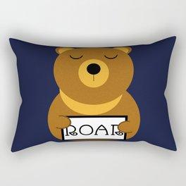 Hear the roar Rectangular Pillow
