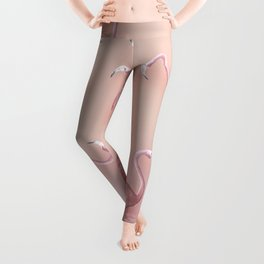 Flamingo Pattern Leggings