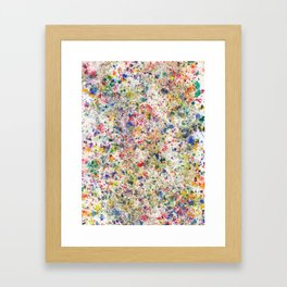 Abstract Artwork Colourful #7 Framed Art Print
