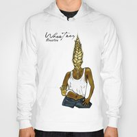 houston Hoodies featuring Wheatney Houston by Pattavina