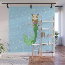 Mer-Cat Wall Mural