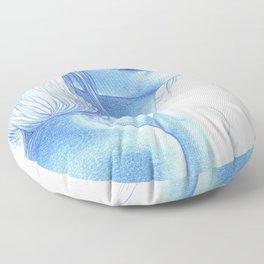 Blue skin Floor Pillow