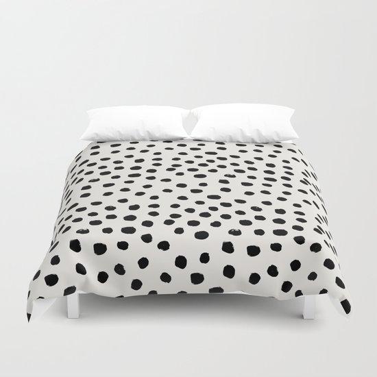 preppy brushstroke free polka dots black and white spots dots dalmation animal spots design. Black Bedroom Furniture Sets. Home Design Ideas