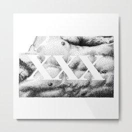 XXX - Nood Dood Metal Print