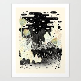 Into the Unknown... Art Print
